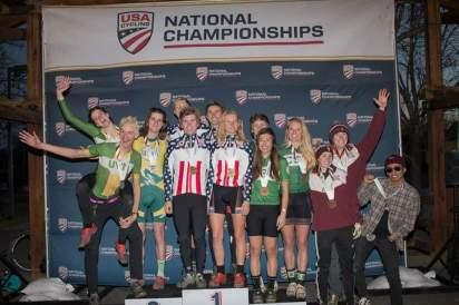 At the National Championships